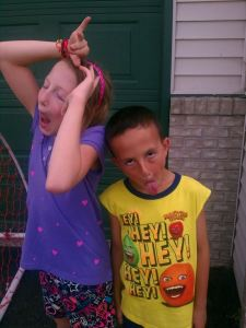 So, how do they REALLY feel about the first day of school?  Giddy with goofiness ;)  It's going to be a great year!